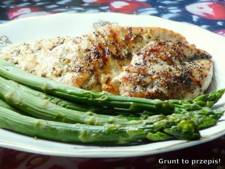 Czosnkowy kurczak grillowany