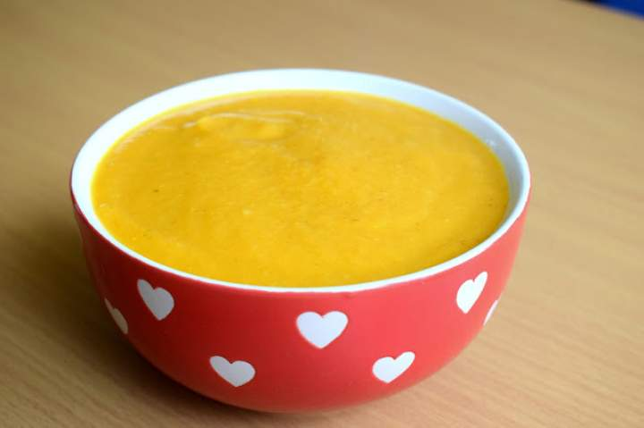 Zupa krem z warzyw korzeniowych :)