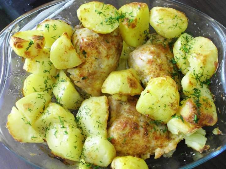 Udka Z Ziemniakami Z Piekarnika – Czyli obiad który robi się sam ;)