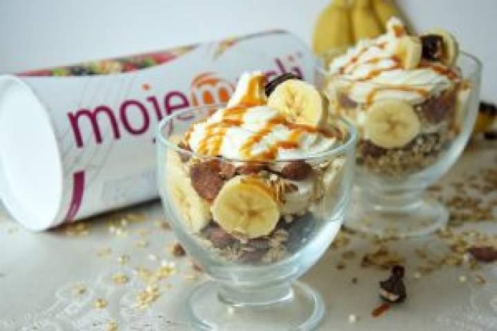Bananowy deser 5 składnikowy!
