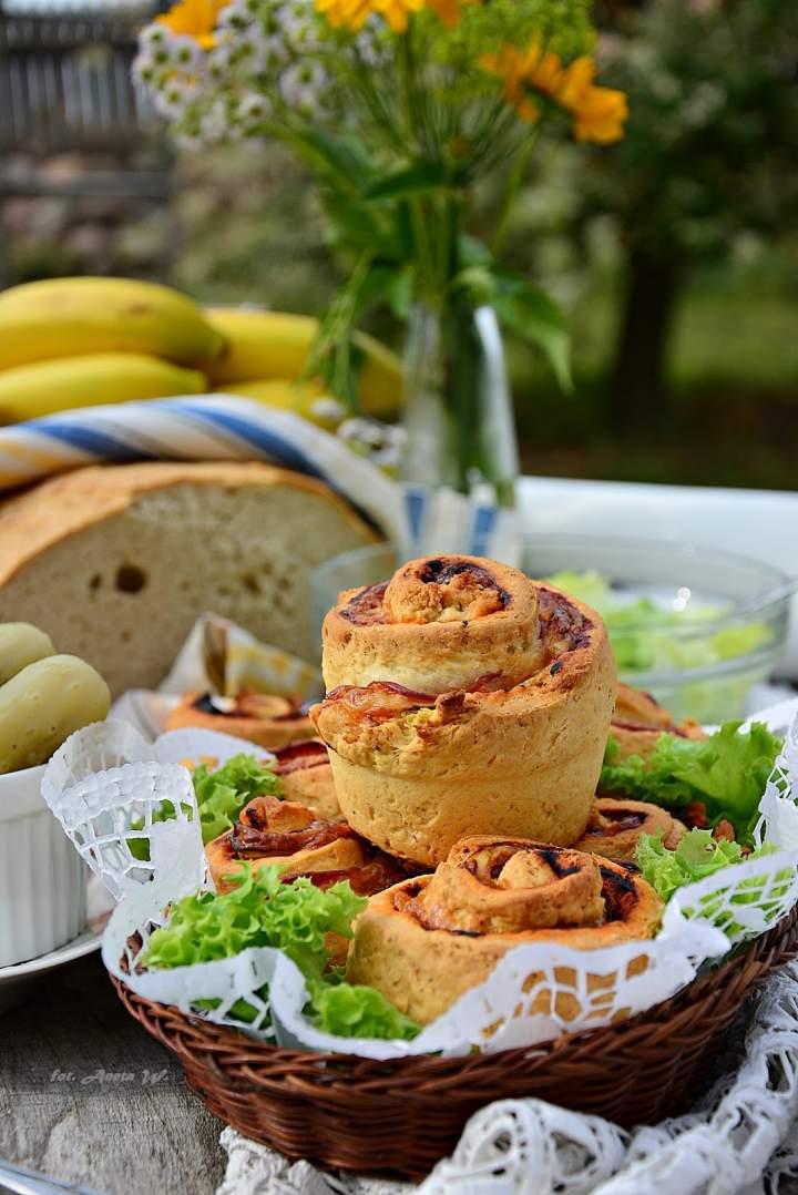 Muffinrollsy o smaku pizzy – optymalny wybór na piknik
