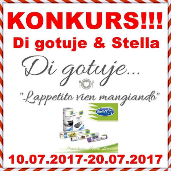 KONKURS – Di gotuje & Stella – do wygrania zestaw 5 produktów!