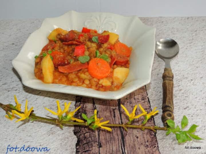 Hiszpańska zupa z soczewicy – Lentejas