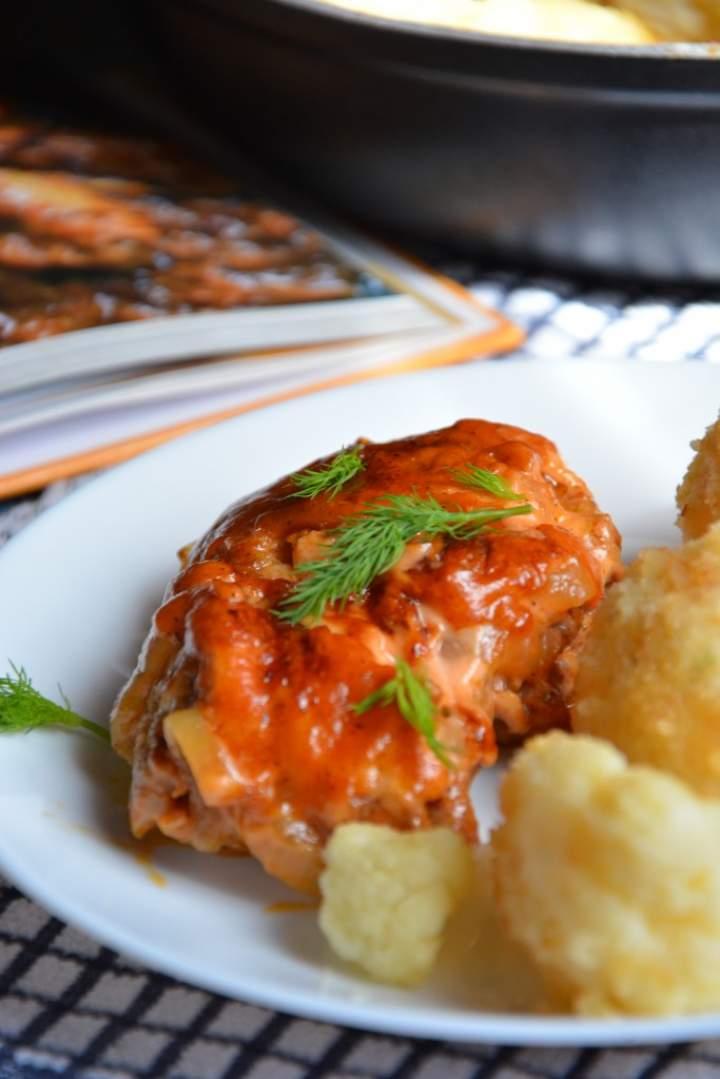 Filety z udek zapiekane w ketchupie