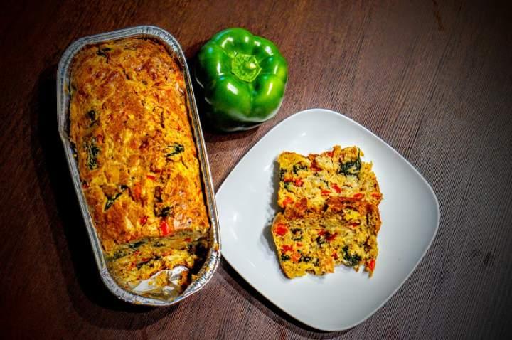 Ciasto warzywne z papryką