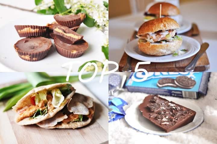 TOP 5 FAST FOOD'ÓW oraz SŁODYCZY w dietetycznej wersji do wykonania w domu!