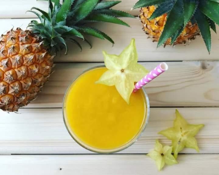 ananas + mango + mleko kokosowe