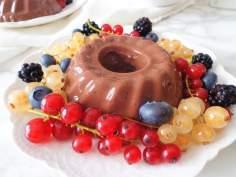 Domowy budyń czekoladowy (Budino al cioccolato fatto in casa)