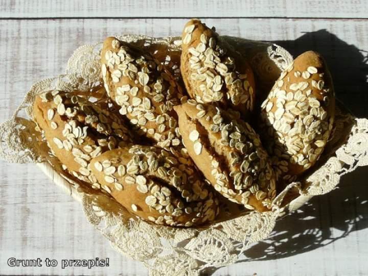 Bułeczki owsiano-żytnie w Lipcowej Piekarni