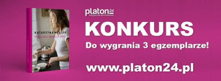 KONKURS – Di gotuje & Platon24 – do wygrania 3 książki