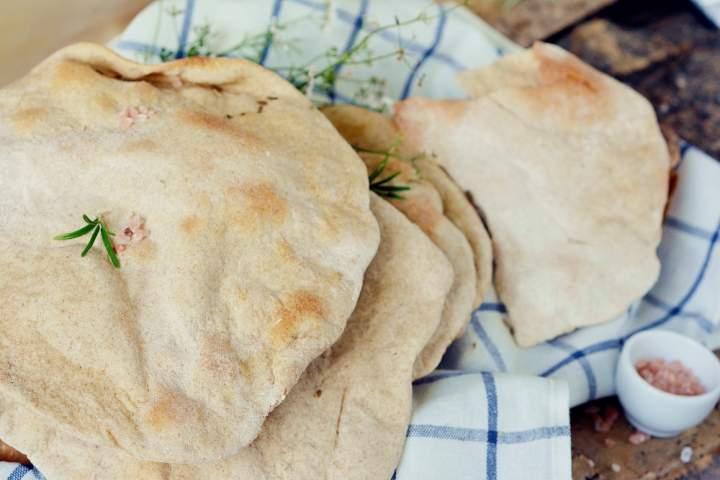 Chlebki pita pszenno-żytnie