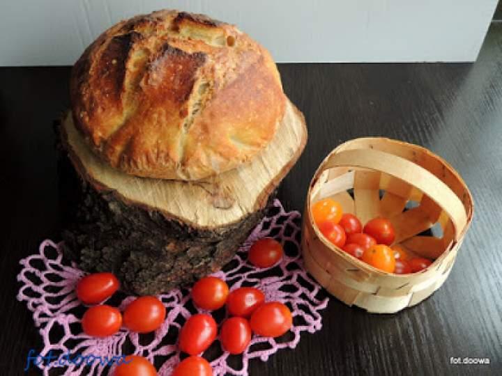 Chleb pszenny z garnka bez wyrabiania