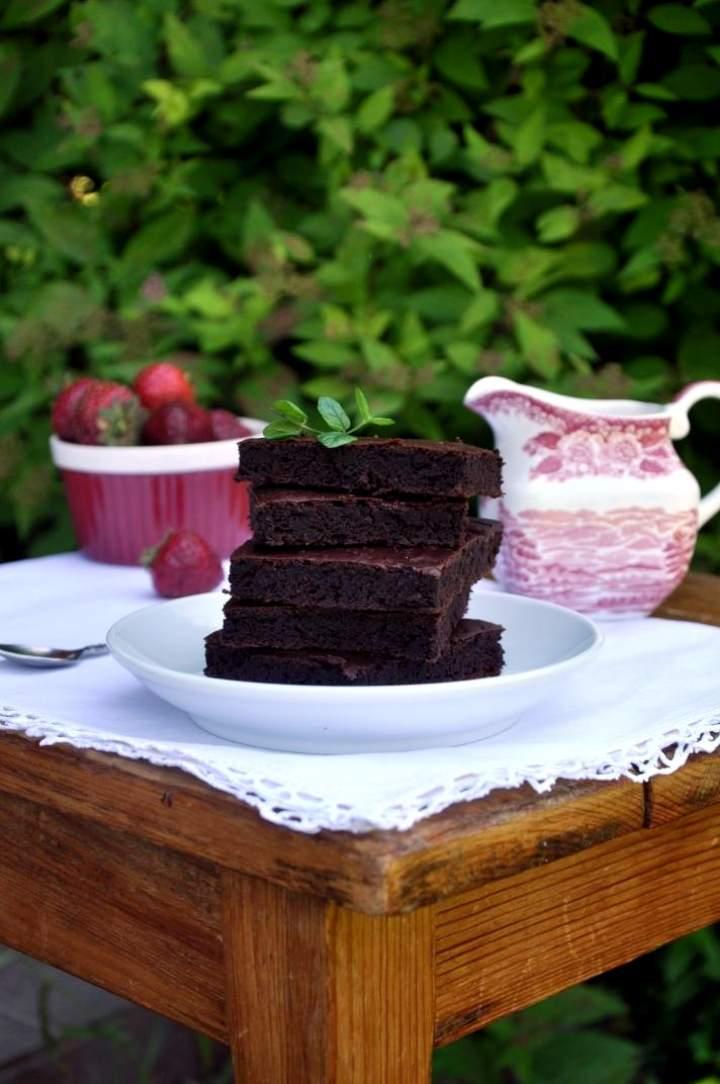 Brownie z fasoli (bez glutenu)