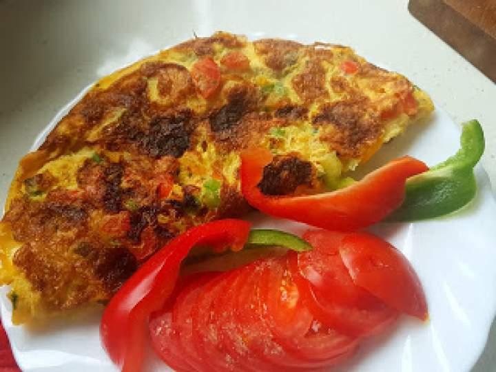 Śniadaniowy omlet