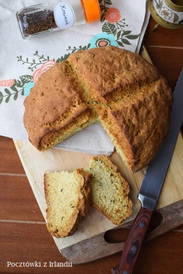 Irlandzki chleb z kminkiem