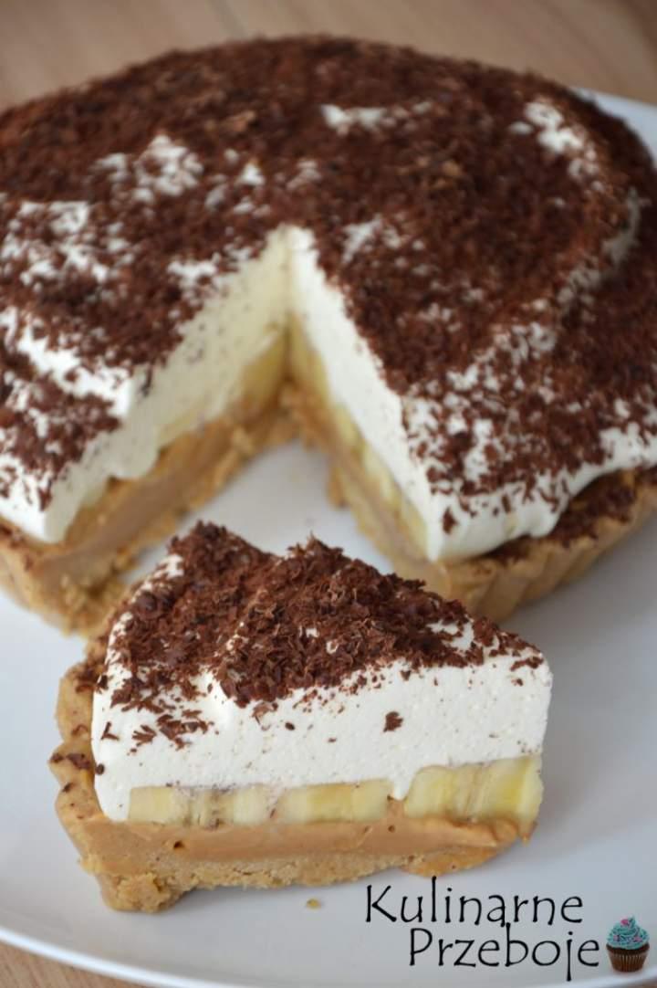 Banoffee Pie – Banoffi – ciasto bez pieczenia