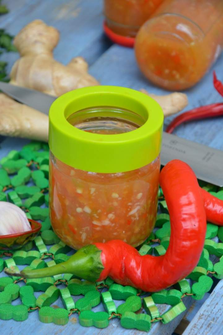 Sos słodkie chili na zimę