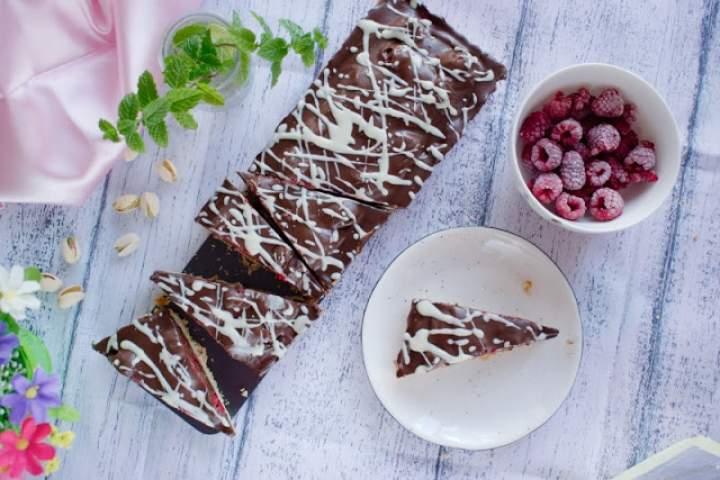 """Tarta """"malina w czekoladzie"""""""