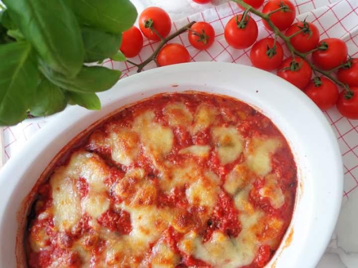 Zapiekanka z bakłażanów (Parmigiana di melanzane)