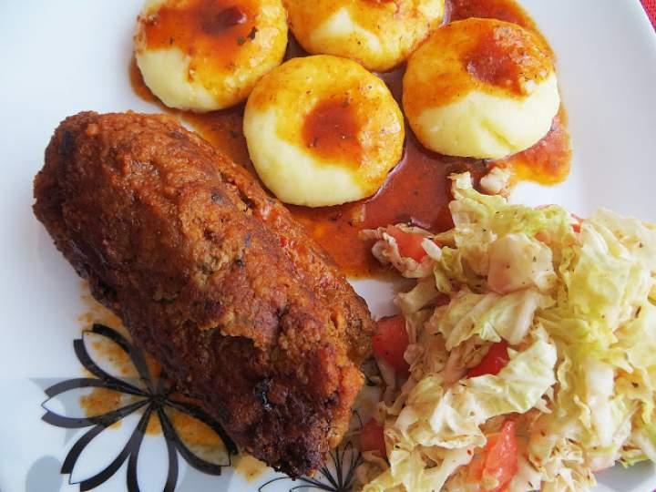 Rolady z mięsa mielonego – wołowego.