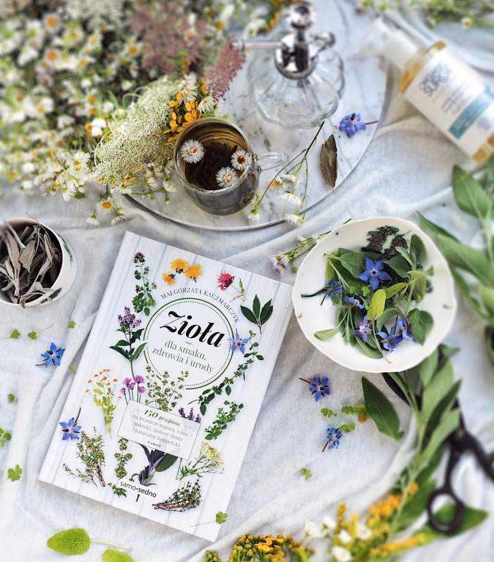 Zioła dla smaku, zdrowia i urody – recenzja książki