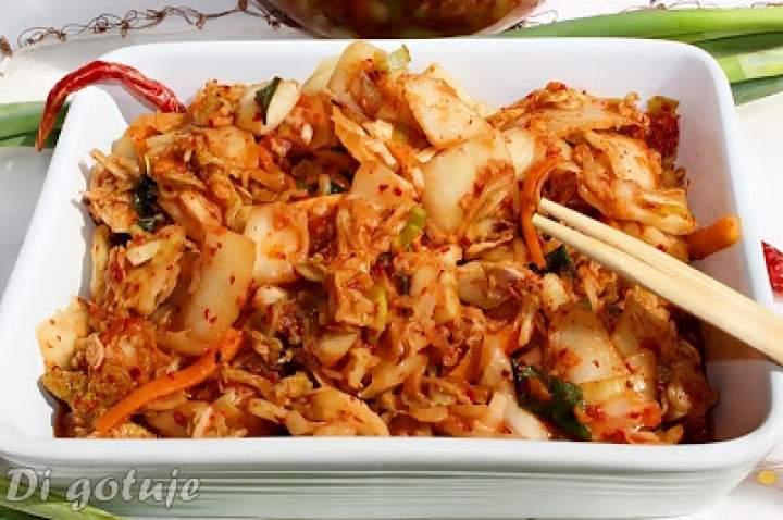 Kimchi – tradycyjne danie kuchni koreańskiej