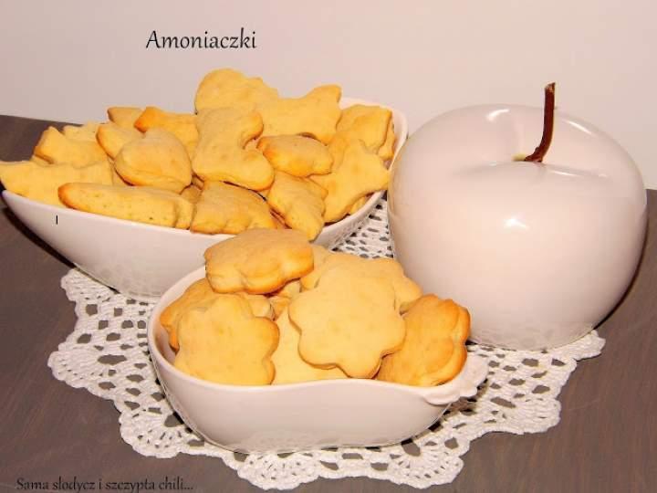 Amoniaczki czyli błyskawiczne ciasteczka.