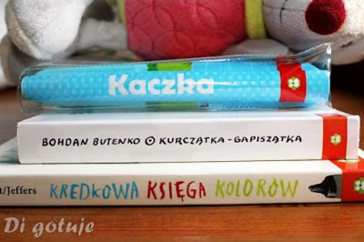 Kredkowa księga kolorów, Kurczątka-Gapiszątka i Kaczka – książeczka do kąpieli – recenzje