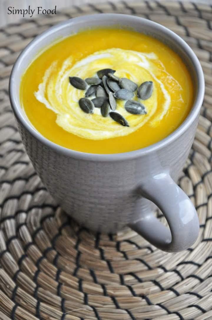 Zupa krem z marchewki II