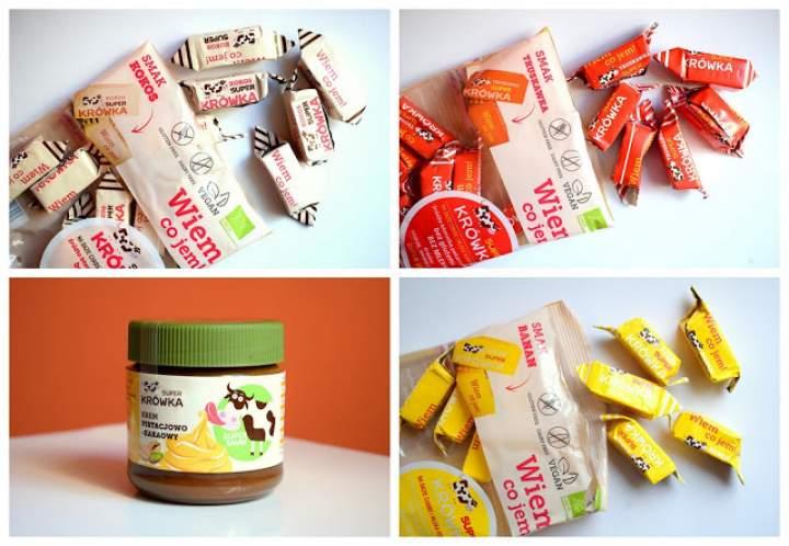 Super Krówka – kokos, truskawka, banan ORAZ krem pistacjowo-kakaowy :)
