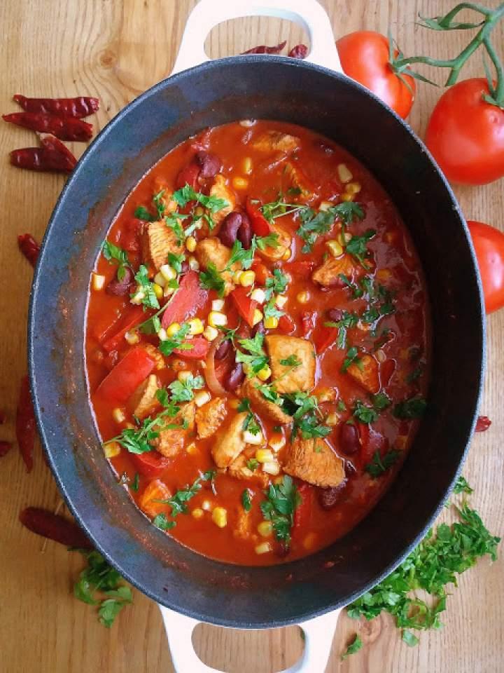 Chili z indyka / Turkey Chili