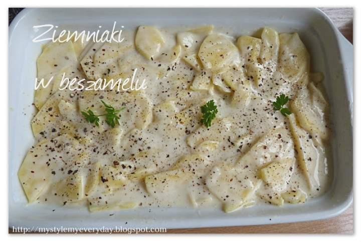 Ziemniaki w beszamelu