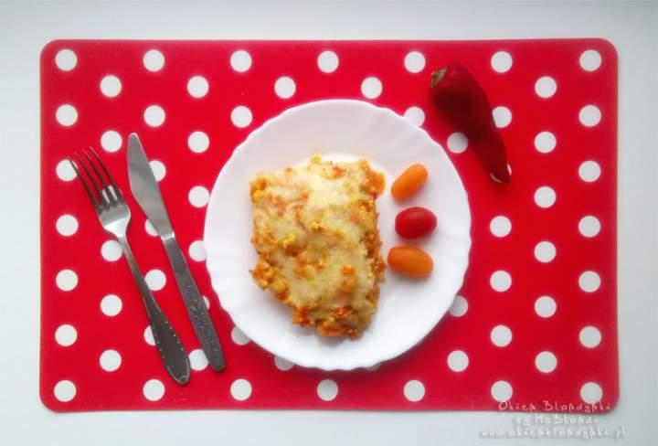 Zapiekanka z kaszy jaglanej z warzywami – przepis krok po kroku
