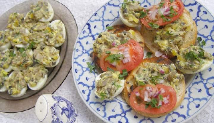 weekendowe śniadanie pieczarkowo-jajeczne…