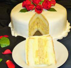 Tort ananasowo- kokosowy