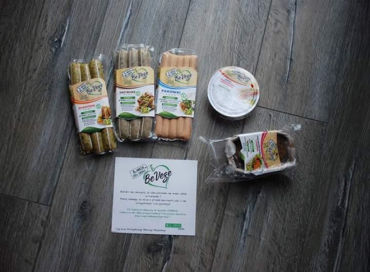Współpraca z BeVege- paczka stworzona dla wegan