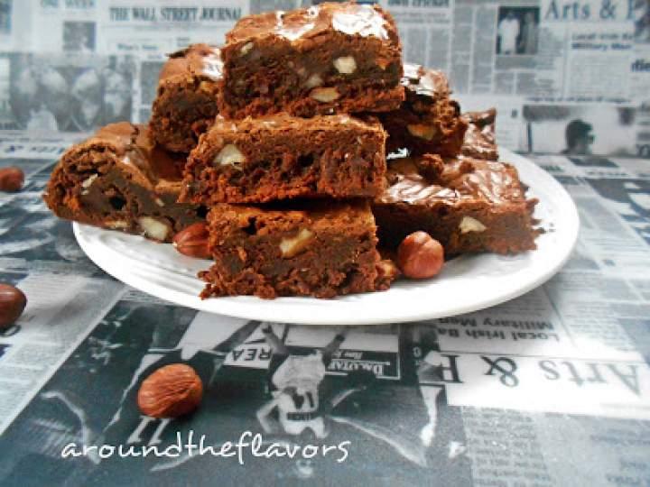 Brownie z orzechami