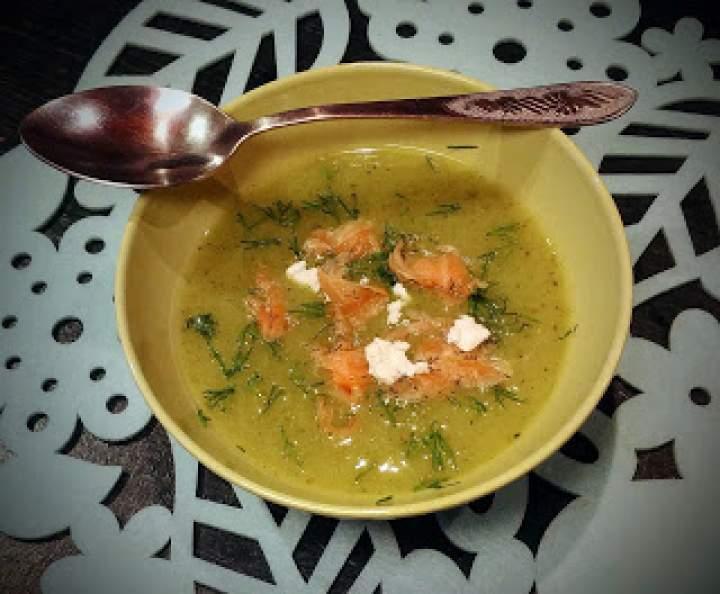 Ziemniaczano-cukiniowa zupa krem