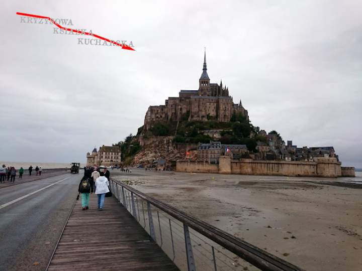 Hot dogi z Mont Saint-Michel