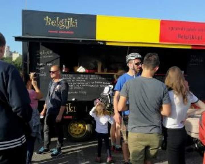 Moja przygoda z Festiwalem Food Trucków – część I