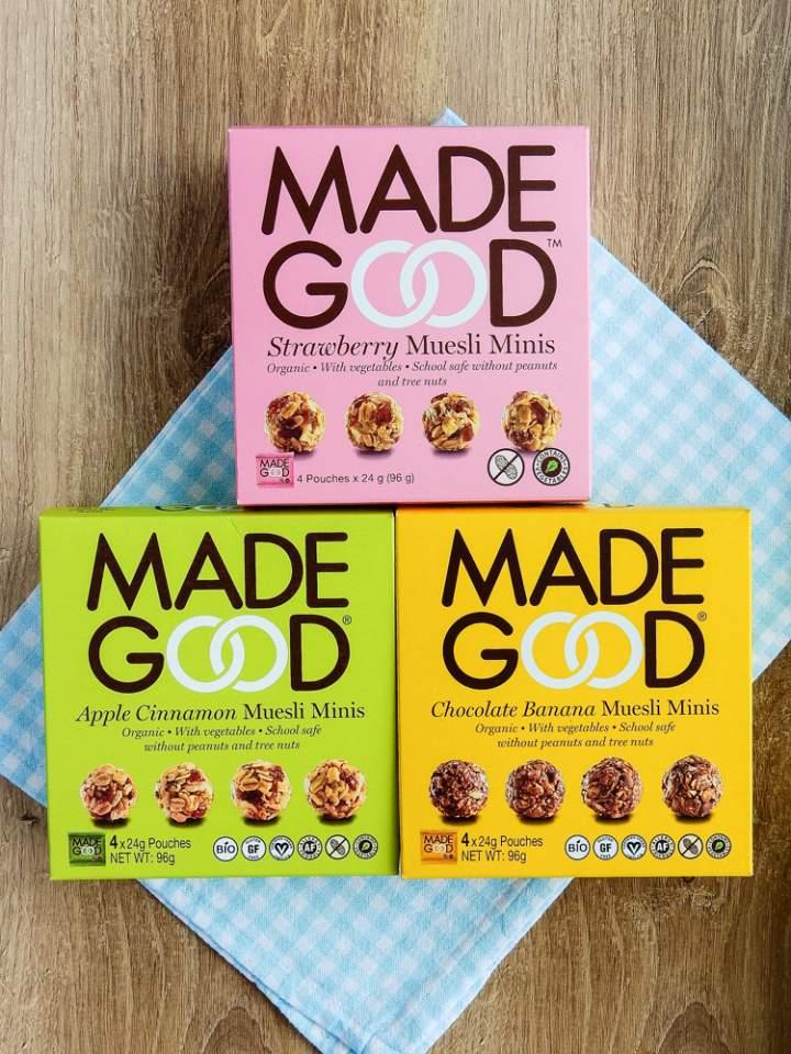 Made Good, Biona, Amisa, Sesam Strasse, Pana Chocolate i Ella's Kitchen – kilka słów o produktach.