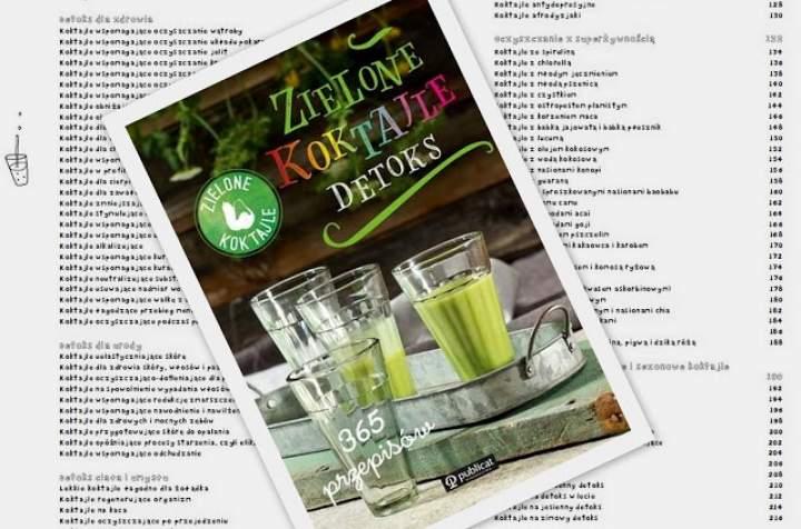 Spis treści oraz o czym będzie DETOKS, nowa książka Zielone Koktajle