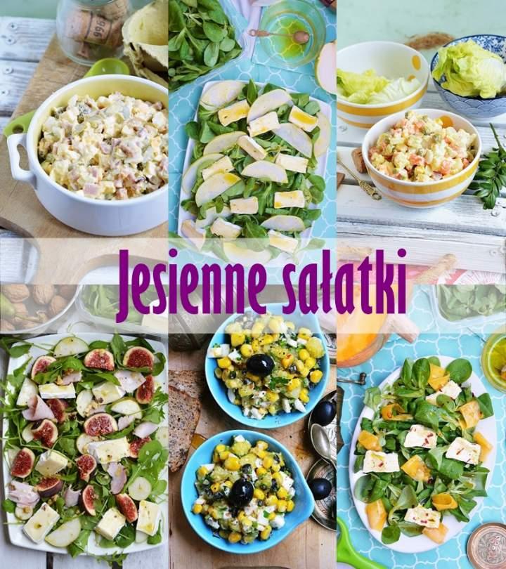Jesienne sałatki