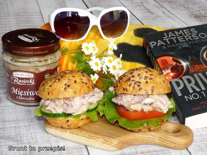 Drobiowe hamburgery na zimno