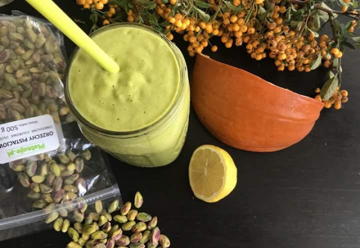 mango + pistacje + cytryna + szpinak + kardamon