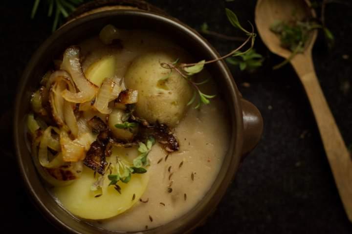Kiesełycia – łemkowski żur owsiany. Kuchnia Bieszczad