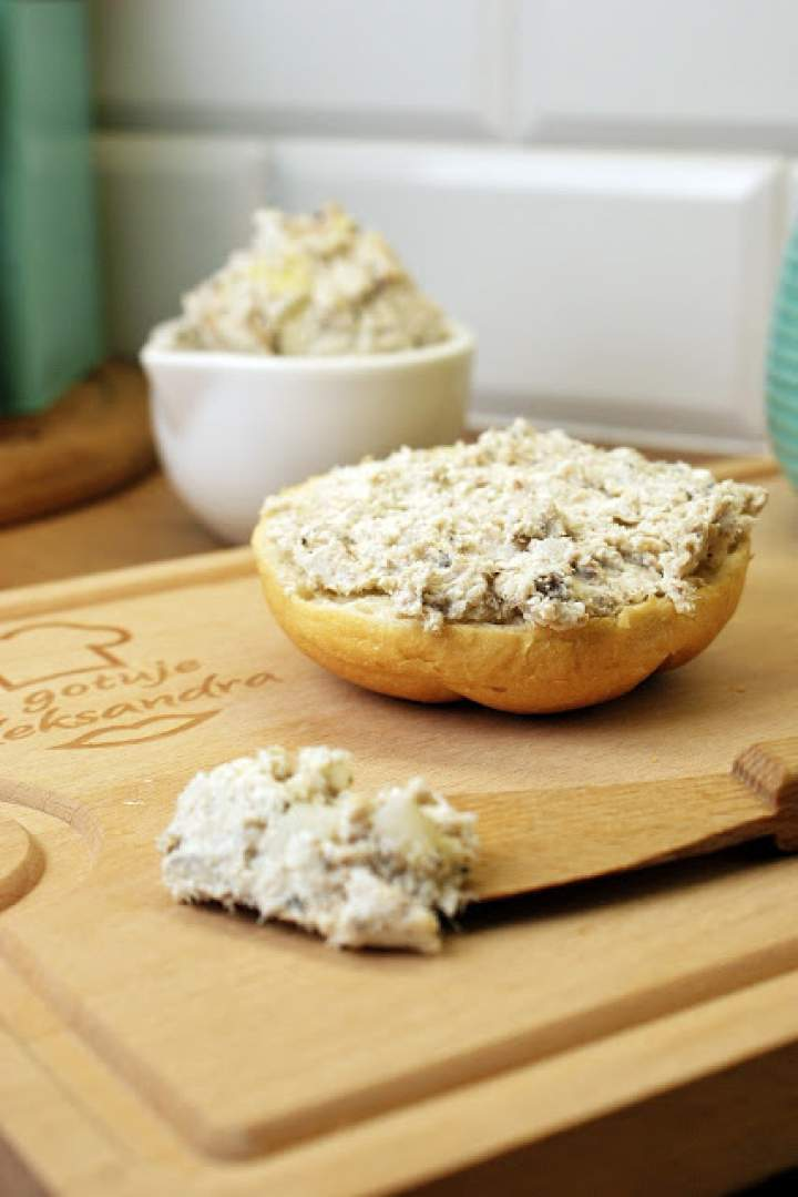 Pasta z makreli z białym serem