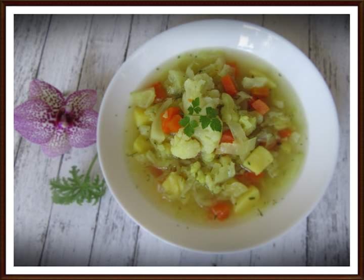Zupa z Kalafiora i Kapusty