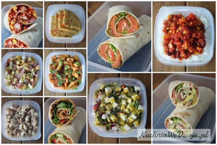 10 pomysłów naszybkie Lunchbox'y część 2.