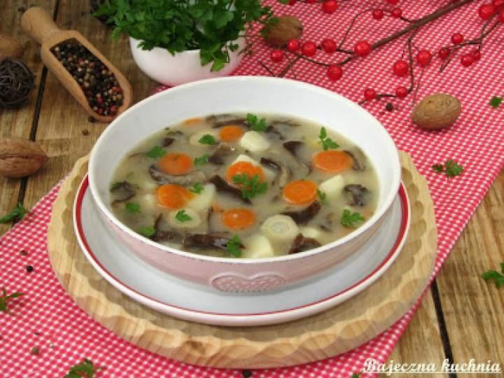 Zupa z opieńkami